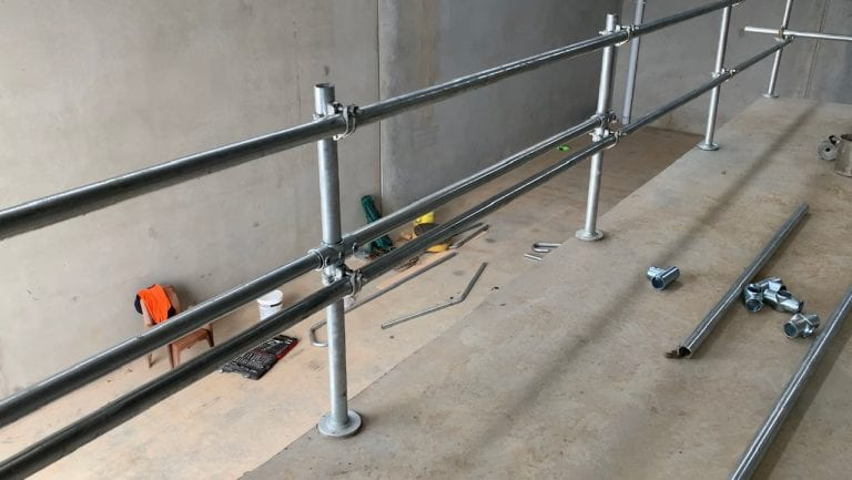 Permanent Handrail