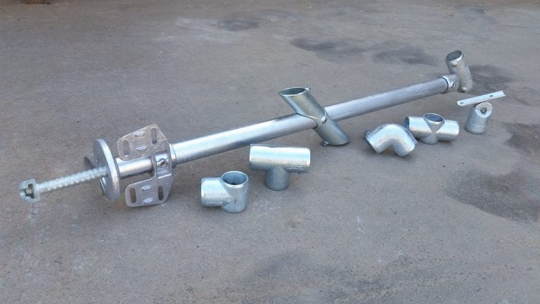 Permanent Handrail Attachments