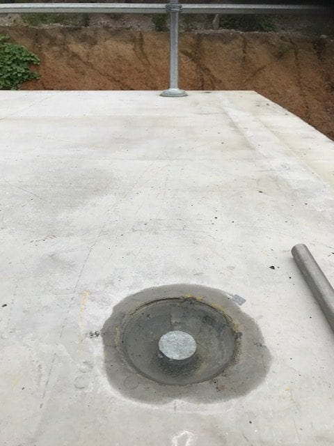 Non-Drill ANCHOR SET IN CONCRETE