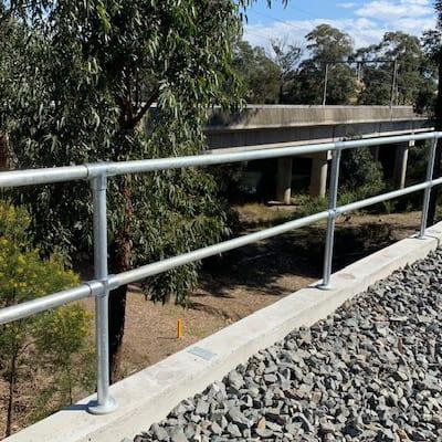 Permanent Handrail - edge protection