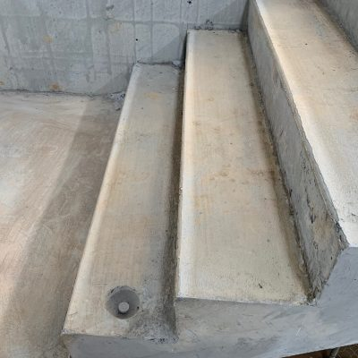 Non-Drill ANCHOR SET IN CONCRETE Stairs